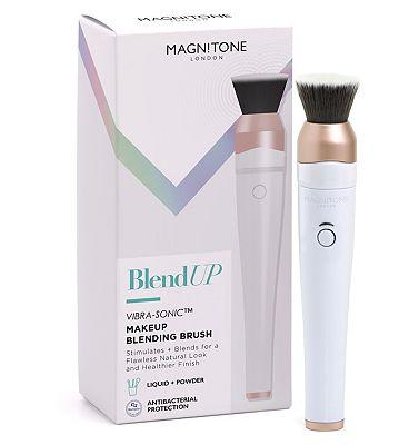 Magnitone BlendUp Vibra-Sonic Makeup Blending Brush White