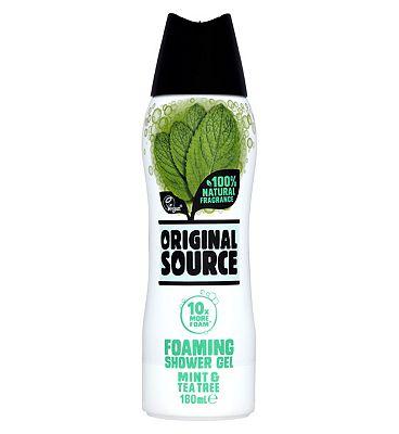 Original Source Mint Foaming Shower 180ml
