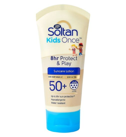 Soltan Kids Once 8hr Play Lotion SPF50+ 50ml