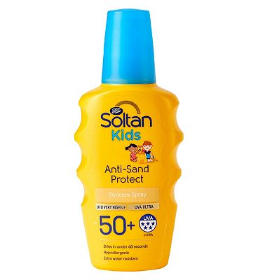 Soltan Kids Anti-Sand Protect spray SPF50+ 200ml