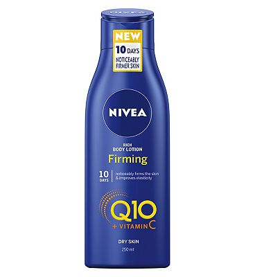 NIVEA Q10 + Vitamin C Firming Body Lotion for Dry Skin, 250ml