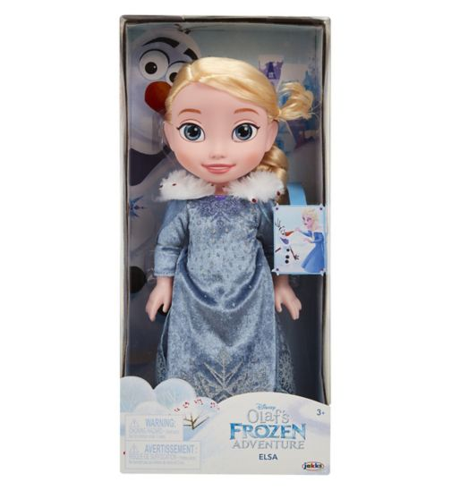 Olaf's Frozen Adventure Toddler Doll