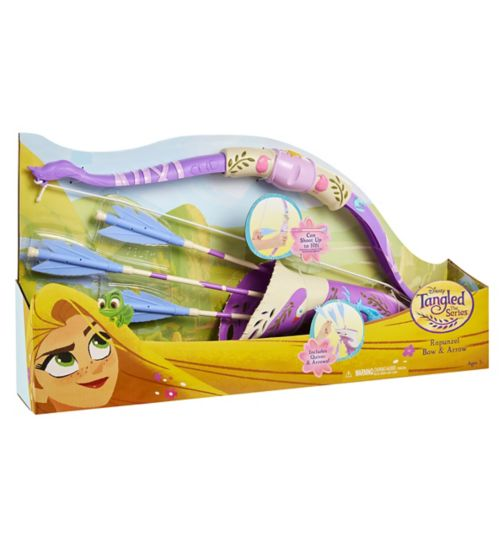 Rapunzel's Bow and Arrow Set