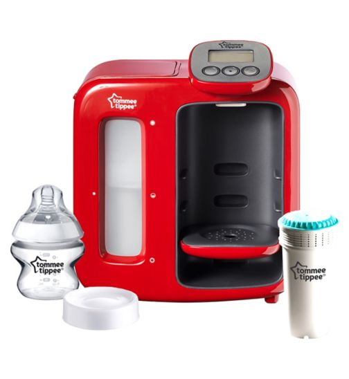 Tommee Tippee Perfect Prep Day & Night - Red