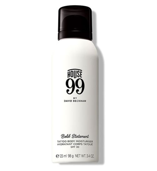 House 99 Bold Statement Tattoo Body Moisturiser SPF30 125ml