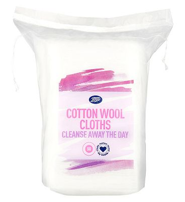 Boots cotton wool cloths