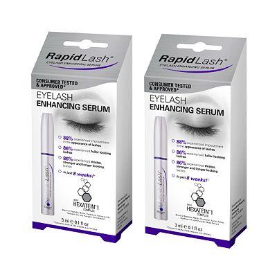 RapidLash Eyelash Enhancing Serum two pack bundle