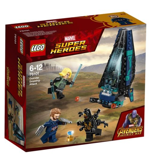 LEGO® Marvel Super Heroes Outrider Dropship Attack
