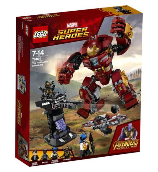 LEGO® Marvel Super Heroes The Hulkbuster Smash-Up