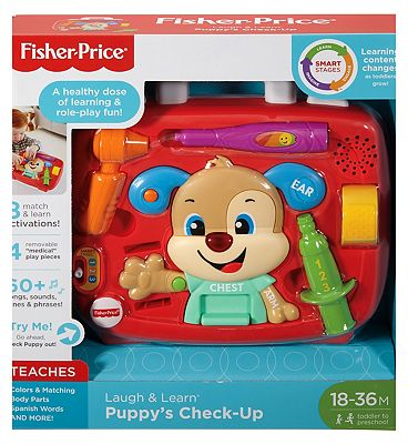 Fisher-Price Laugh & Learn Puppy's Check-Up Kit