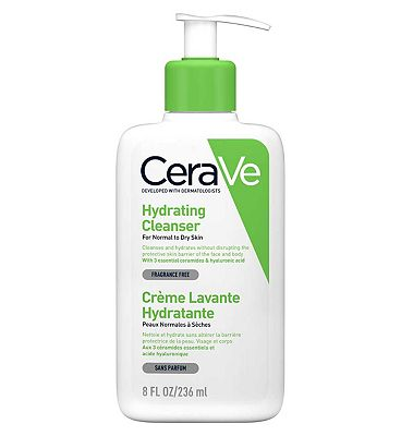 CeraVe Hydrating Cleanser for Normal to Dry Skin 236ml