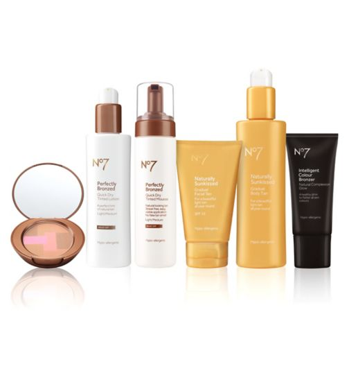 No7 Tan Must haves Light/medium