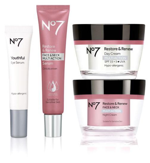No7 Restore & Renew MULTI ACTION Collection