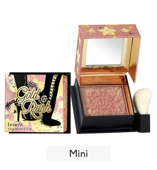 Benefit Gold Rush warm golden-nectar blush mini