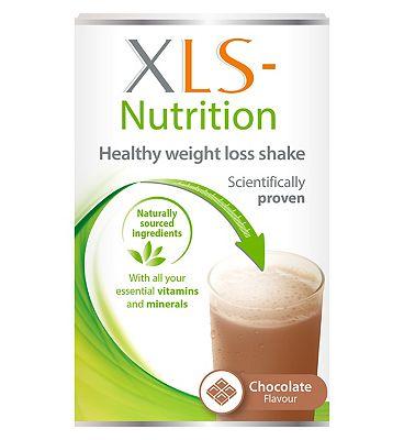 XLS Nutrition Chocolate flavour shake - 400g