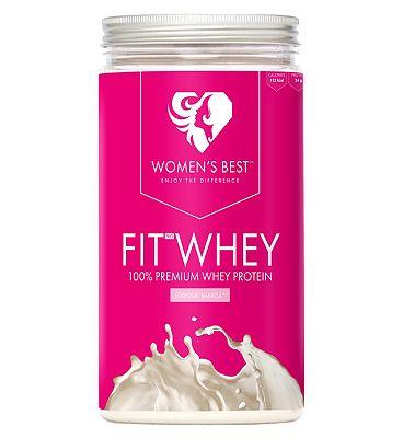 Women's Best Fit Whey Protein Powder - Vanilla 500g