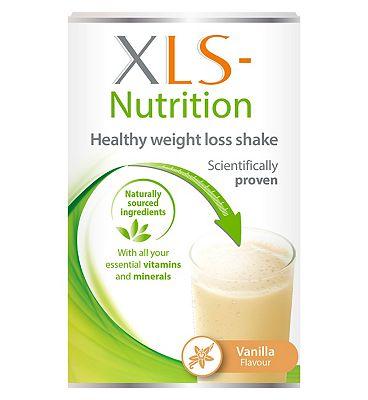 XLS Nutrition Vanilla flavour shake - 400g