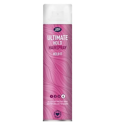 Boots ultimate hold hairspray 300ml