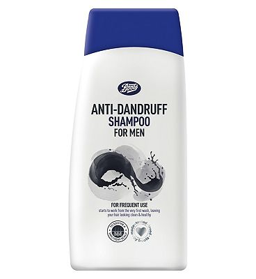 Image of Boots Anti-dandruff Men's Shampoo 300ml