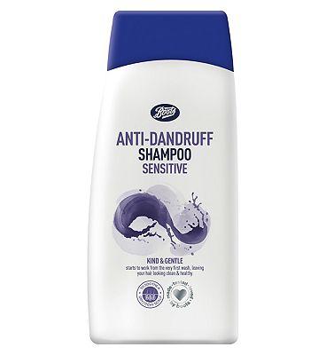 Boots anti-dandruff sensitive shampoo 300ml