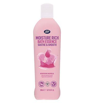 Boots Moisture Rich Bath Essence Magnolia 500ml