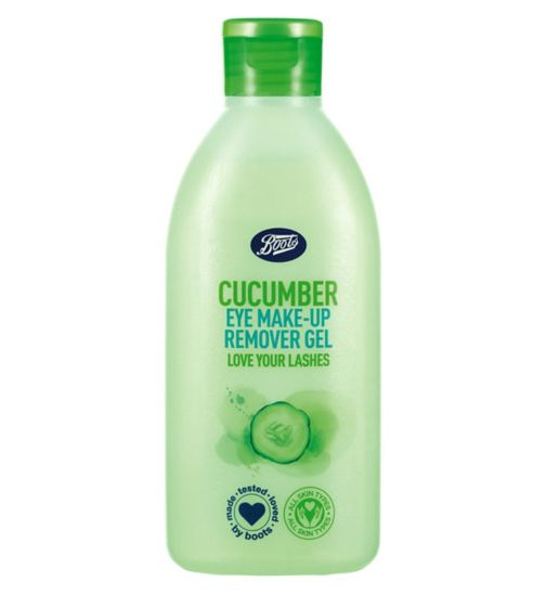 Boots Cucumber Eye Make-up Remover Gel 150ml
