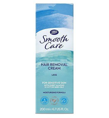 Image of Boots Smooth Care hair removal cream sensitive 200ml