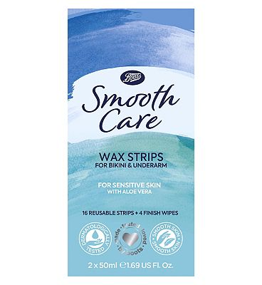 Image of Boots Smooth Care Wax Strips for Bikini & Underarm