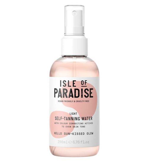 Isle of Paradise Self-Tanning Water Light 200ml