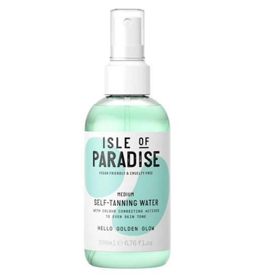 Isle of Paradise Self-Tanning Water Medium 200ml