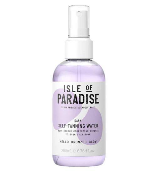 Isle of Paradise Self-Tanning Water Dark 200ml
