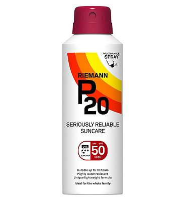 Riemann P20 Seriously Reliable Suncare SPF50 150ml