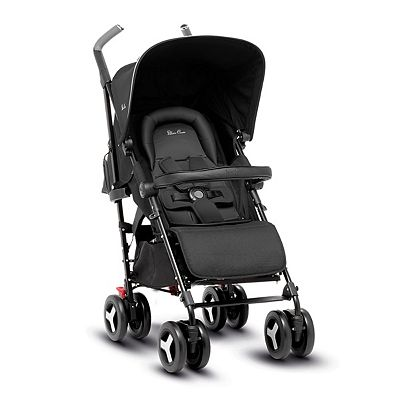Silver Cross Reflex Pushchair – Onyx Black