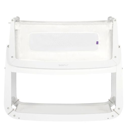 SnüzPod³ bedside crib white