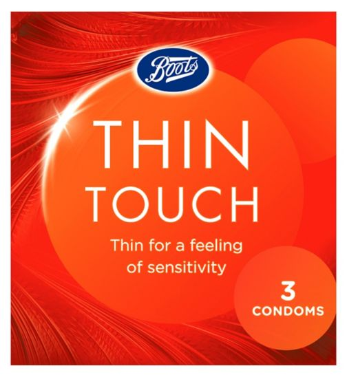 Boots Thin Touch Condoms - 3 Pack
