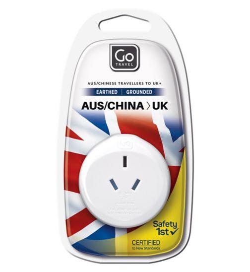 Go Travel AUS to UK Adaptor