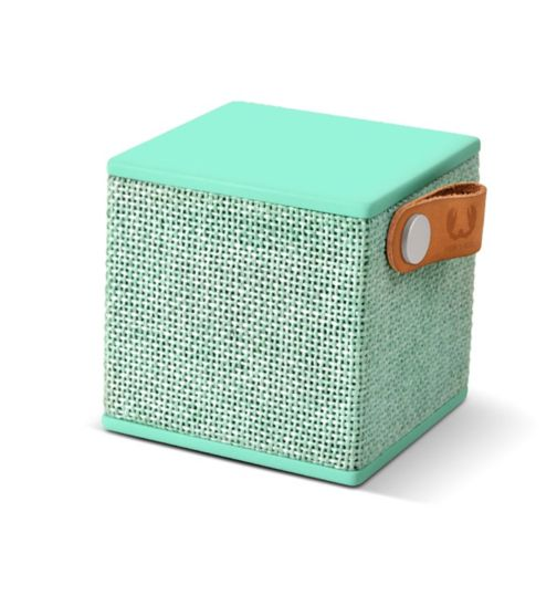 Fresh 'n Rebel Rockbox cube fabriq wireless speaker peppermint