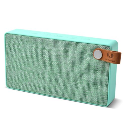 Fresh 'n Rebel Rockbox slice fabriq wireless speaker deep bass peppermint