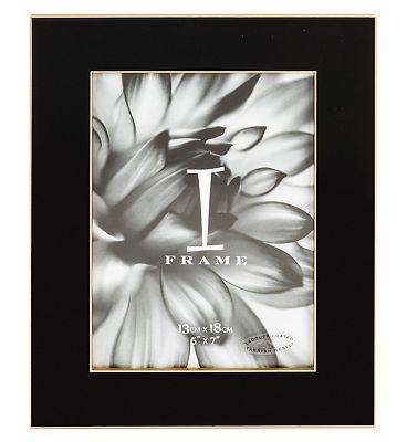 I-Frame Black Epoxy Photo Frame 5x7