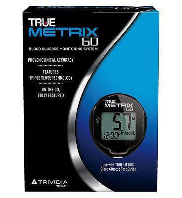 Trividia True Metrix Go Blood Glucose Monitoring System