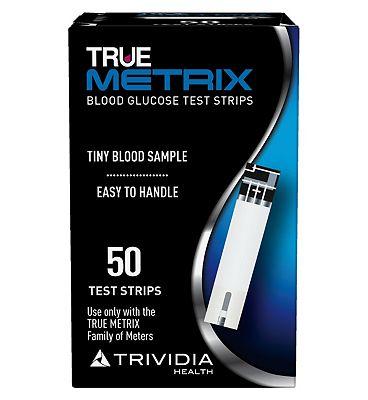 Trividia True Metrix Blood Glucose Test Strips - 50 Strips