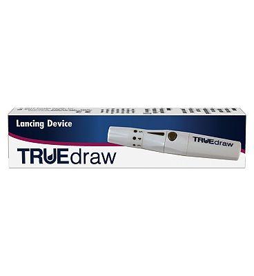 Trividia Truedraw Lancing Device