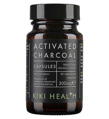 KIKI Health Activated Charcoal 300mg - 50 capsules