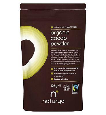 Naturya - Organic Cacao Powder - 125g