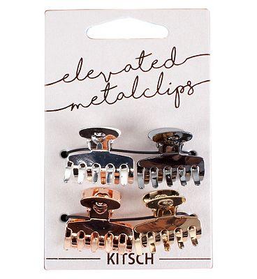 Kitsch Metal Claw Clip Set