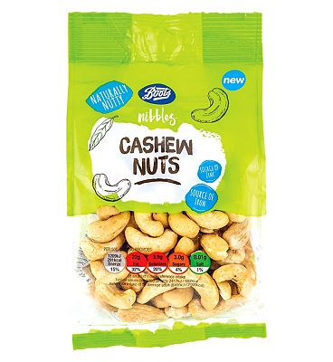 Boots Nibbles Cashew Nuts 230g