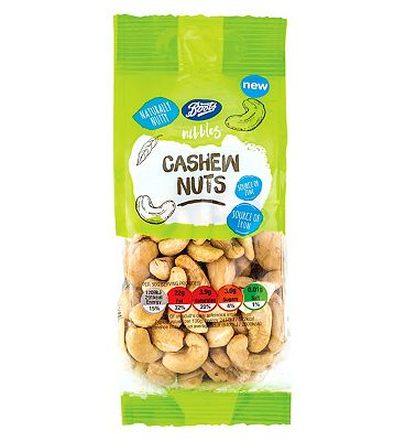 Boots Nibbles Cashew Nuts - 150g