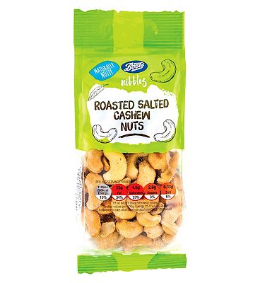 Boots Nibbles Roasted Salted Cashew Nuts 150g