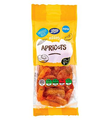 Boots Nibbles Apricots 150g