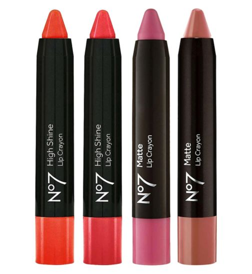 No7 Lip Crayon Favourites Collection
